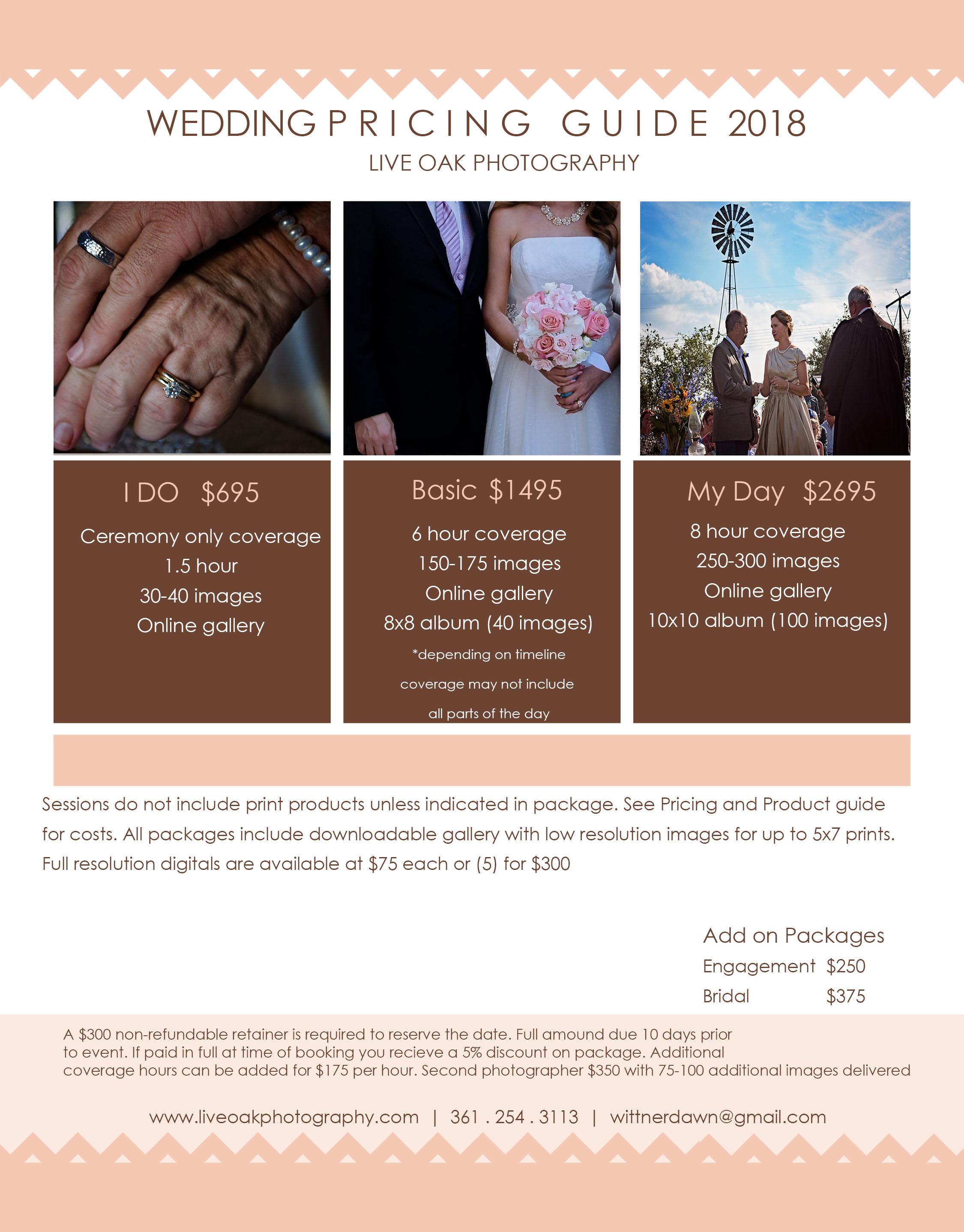 Senior Photography Prices